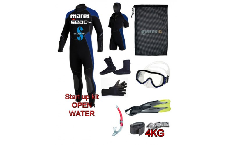 START KIT DELUXE OPEN WATER